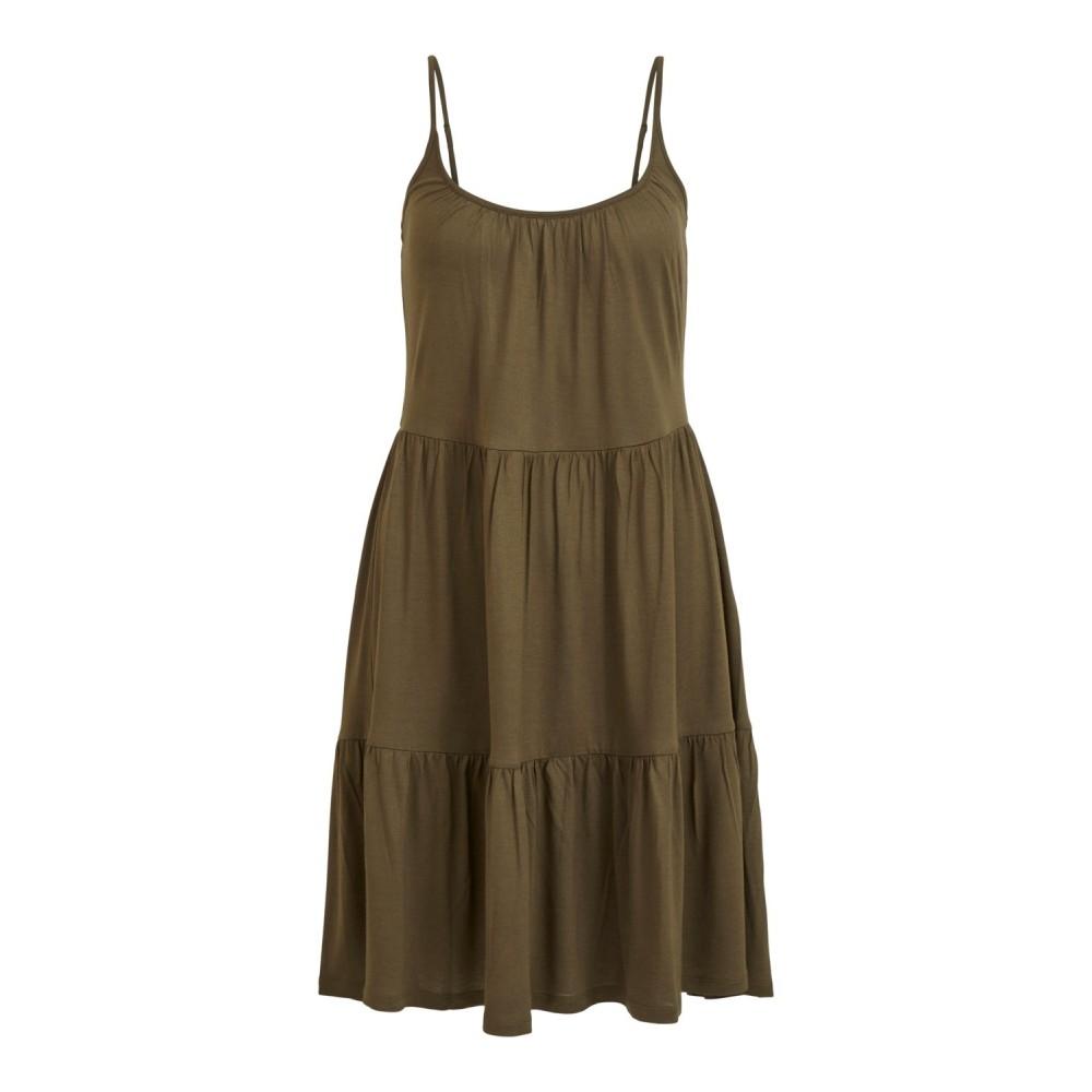 Vilene S/L dress - Ivy green