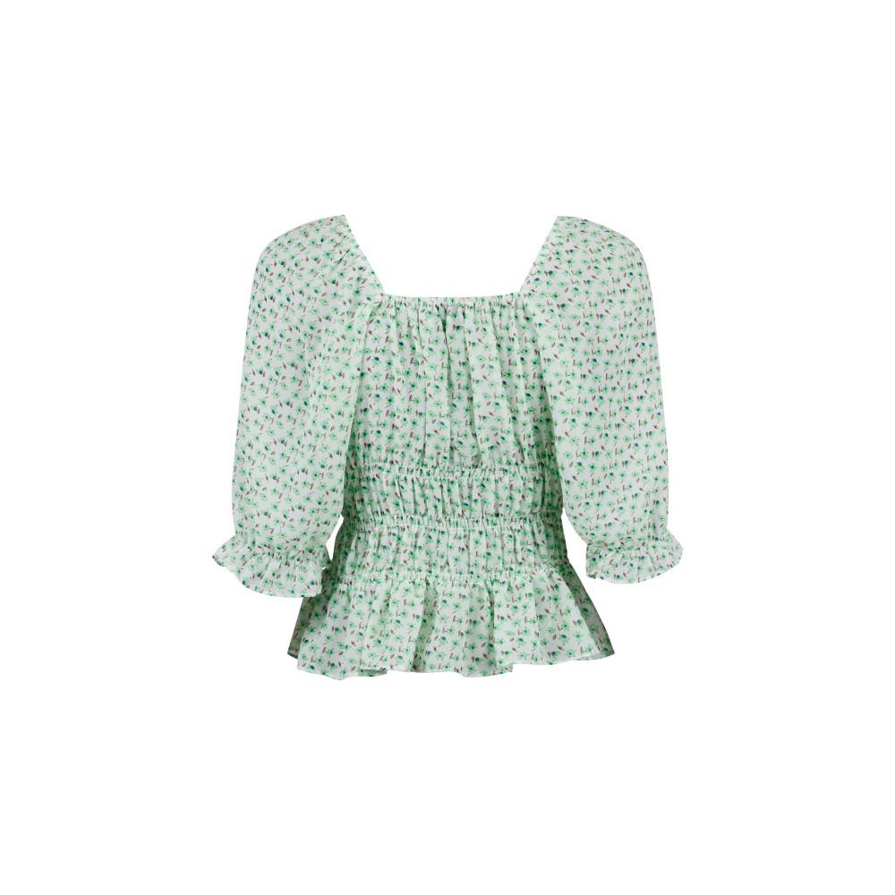 Celinedailyflowerblousegreen-01