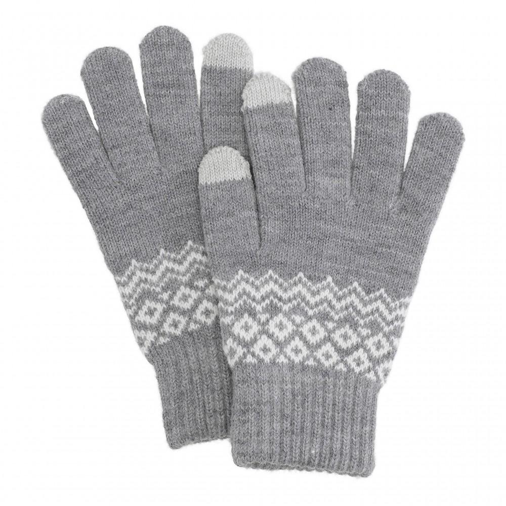 Hygge smartphone gloves, grey