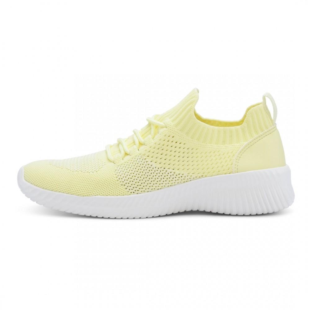 Knit Sock - Lemon Yellow