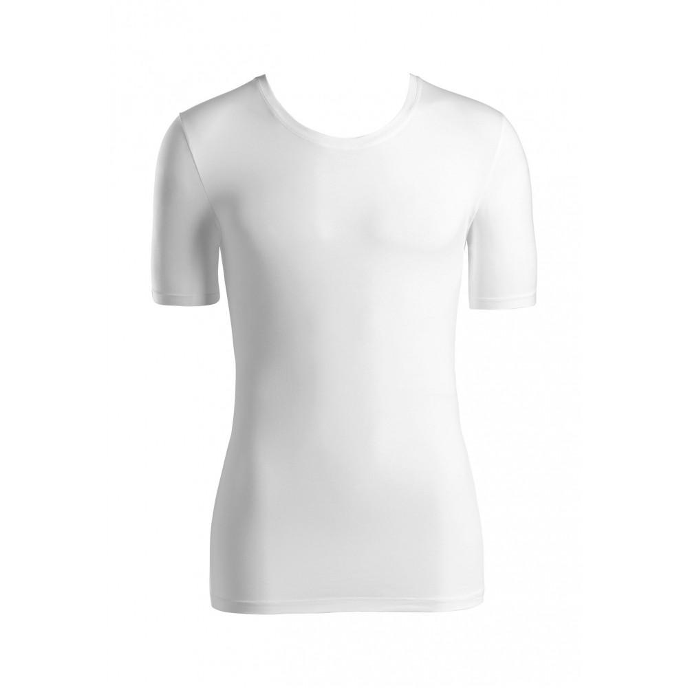 Short Sleeve Shirt Crewneck T-shirt Cotton Superior-01