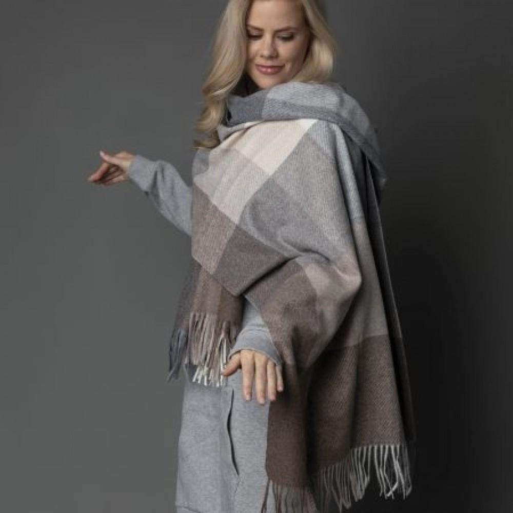 Highland scarf, earth tones-02