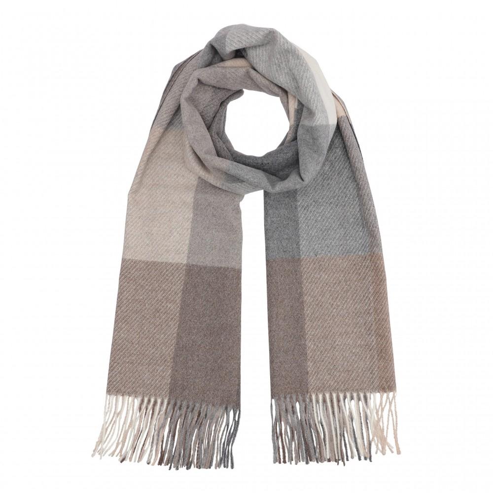 Highland scarf, earth tones
