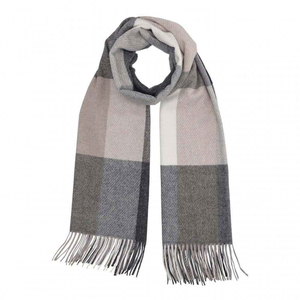 Highland scarf, grey