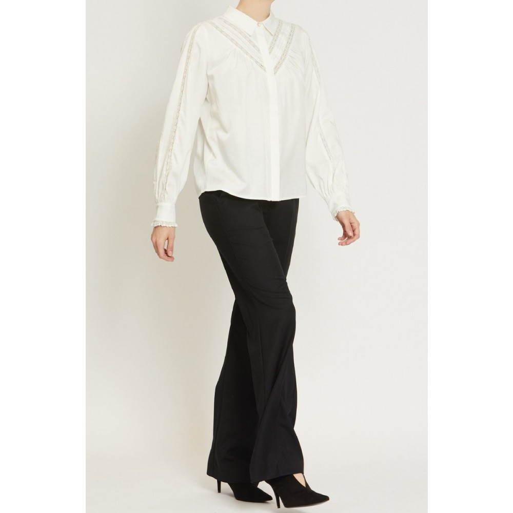 Ulla Shirt White