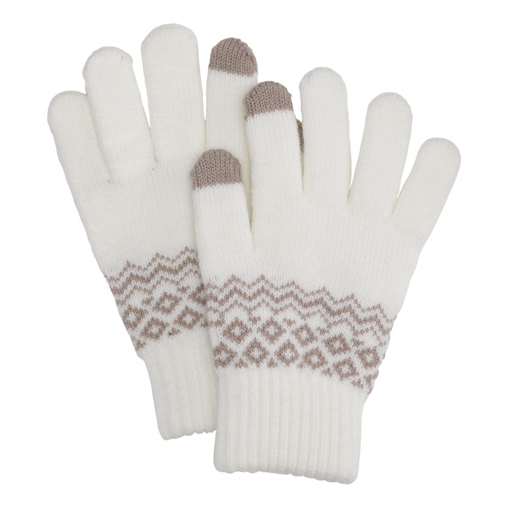 Hygge smartphone gloves, off-white