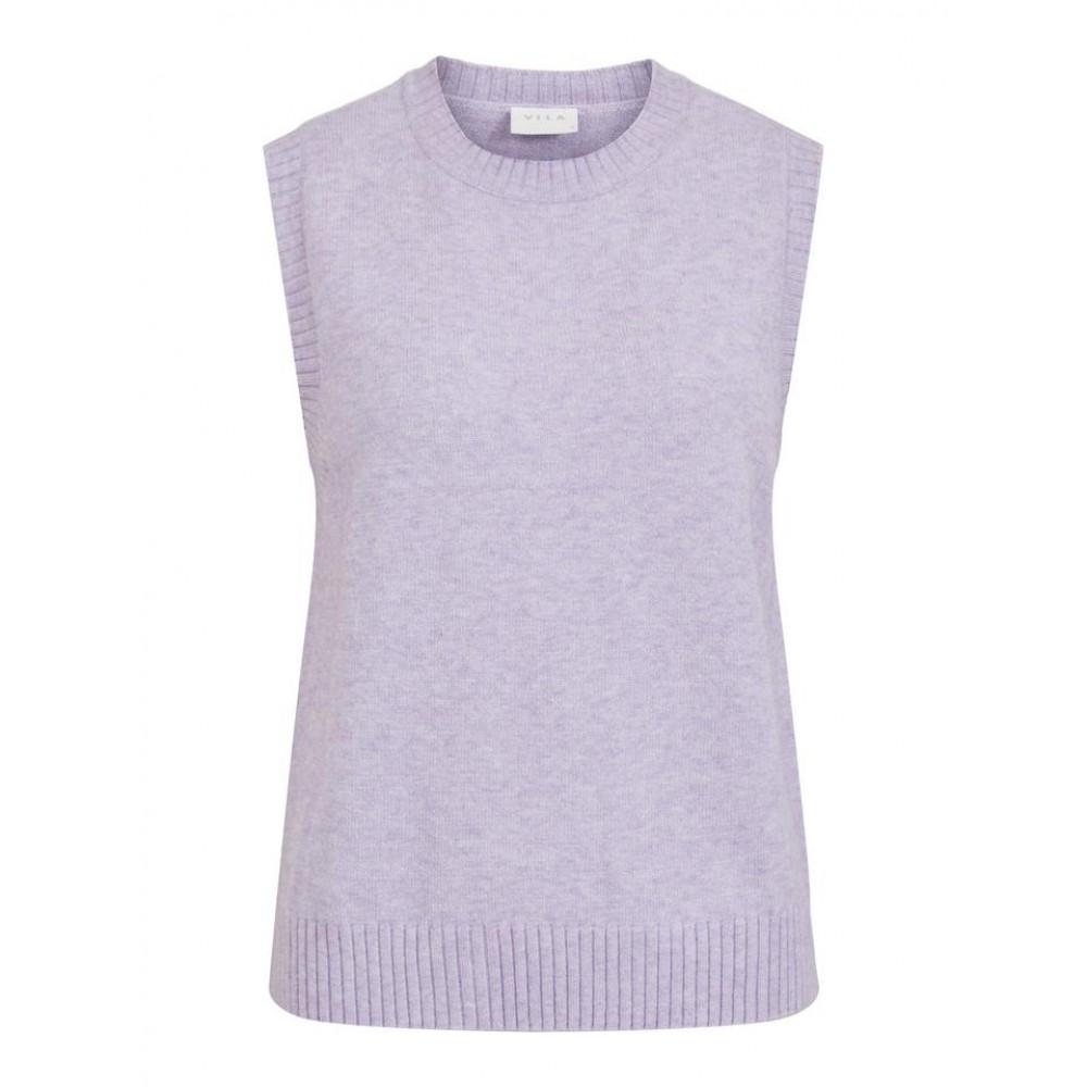 Viril knit o-neck S/L vest