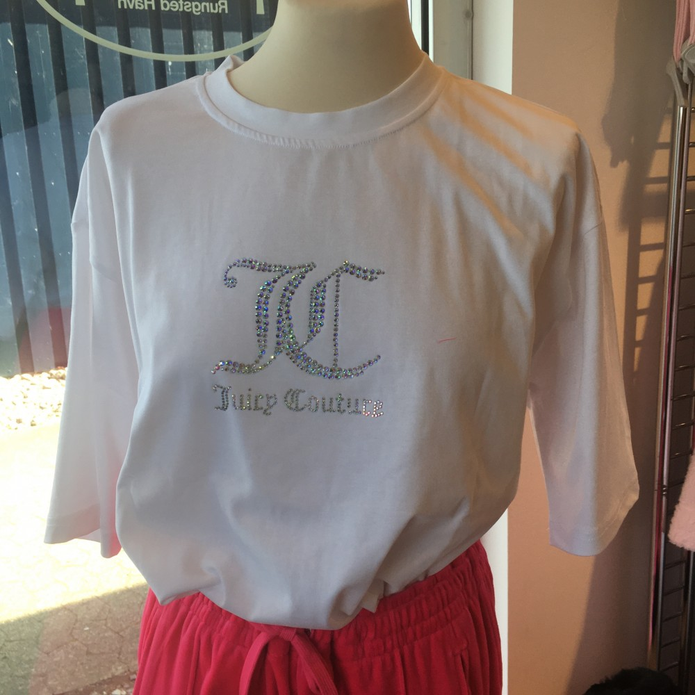 SS21 Juicy couture - Lola diamante t-shirt - white