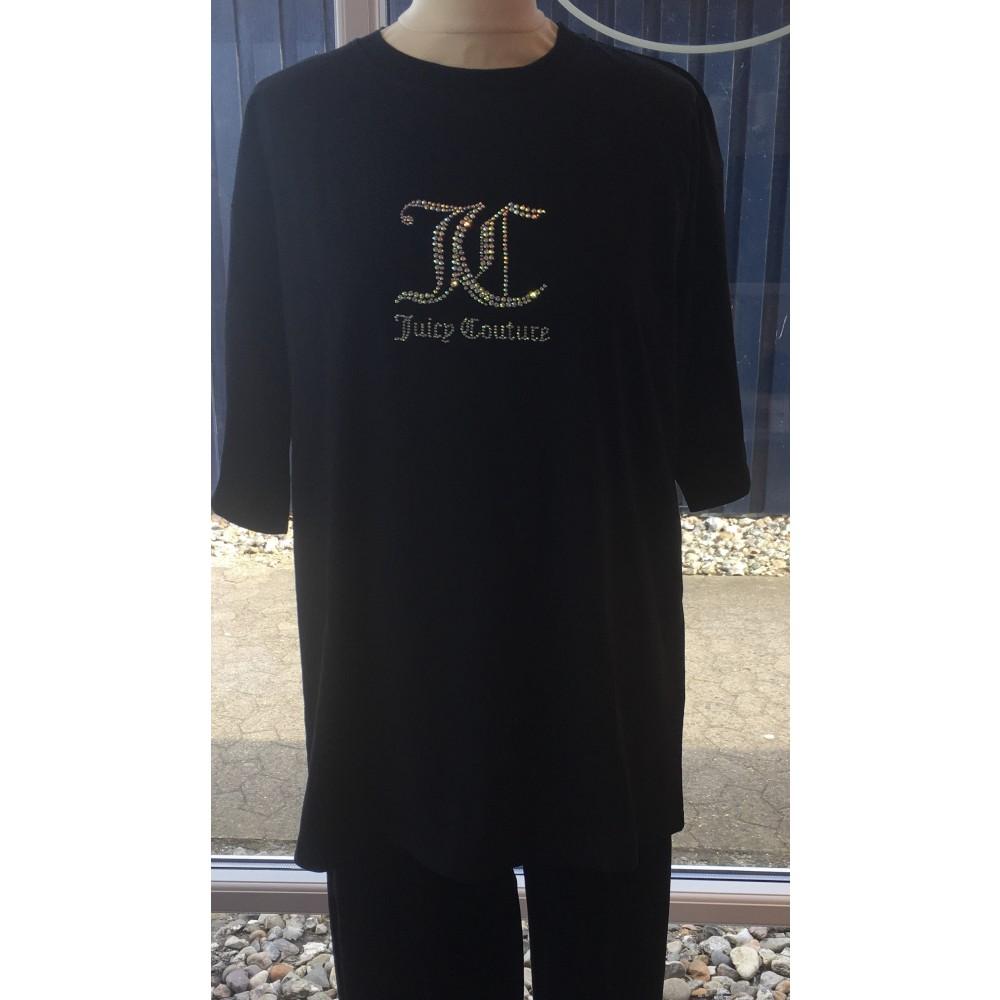 SS21 Juicy couture - Lola diamante t-shirt - black