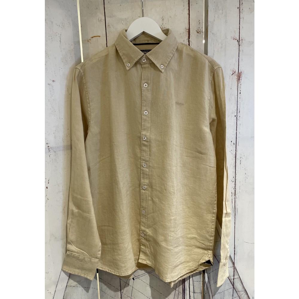 Linen shirt - deep sand