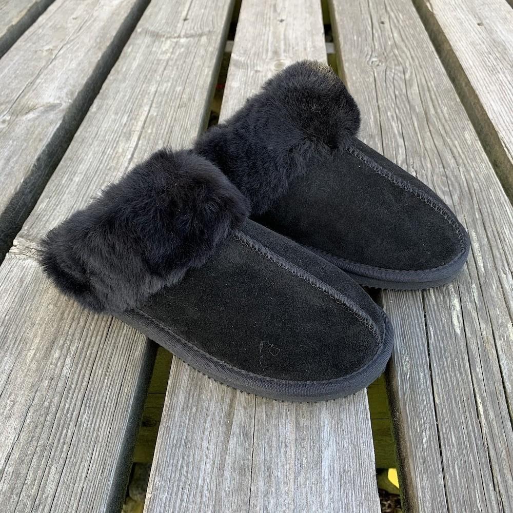 Women`s Woollies Slip On, Black