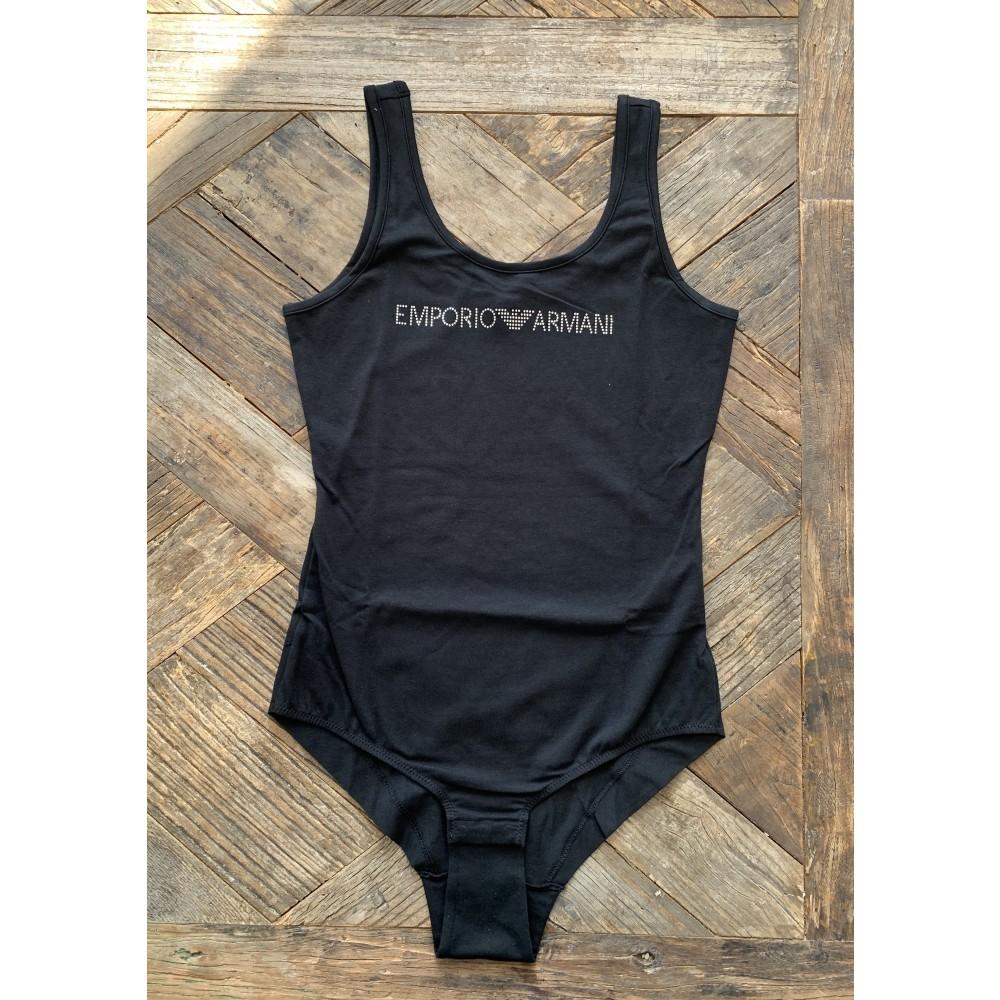 Armani bodystocking, black