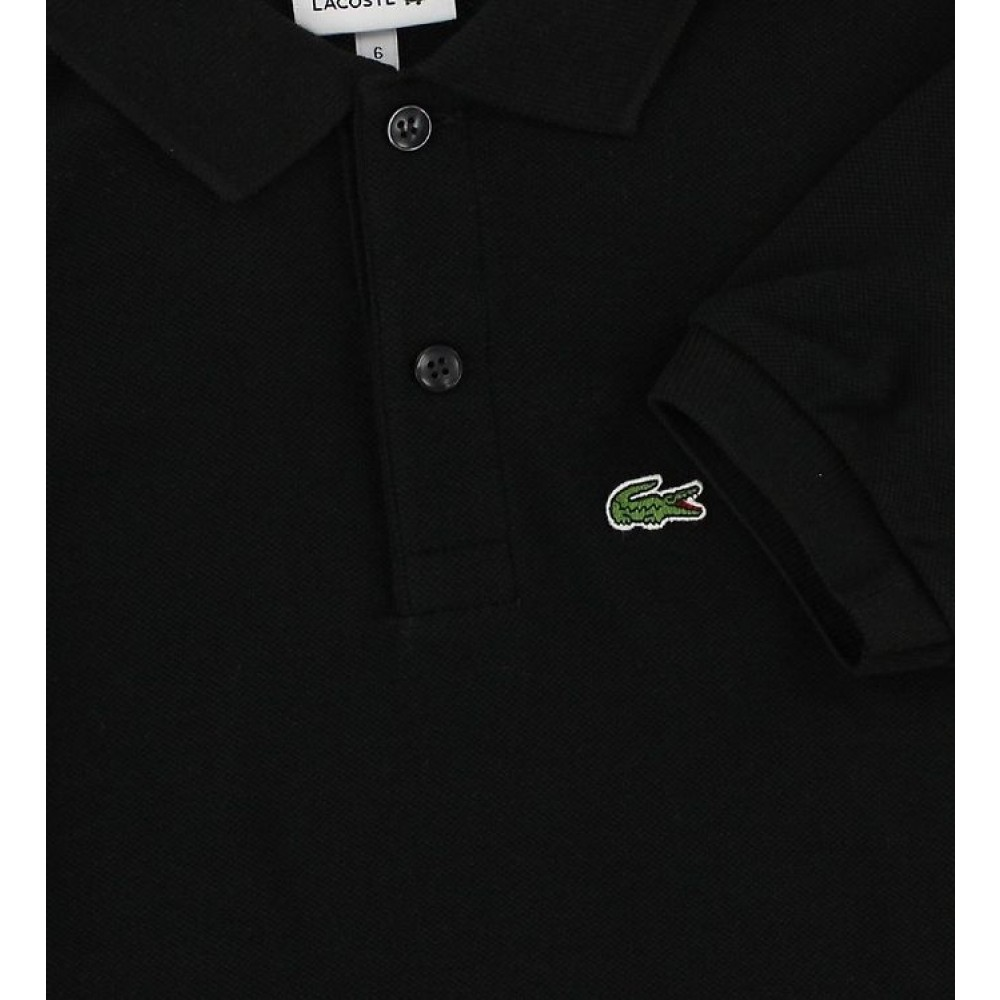 Polo T-shirt, sort-01