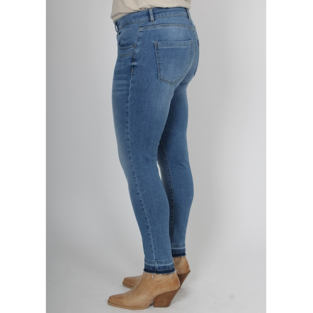 Lucca 7/8 Jeans - blue denim