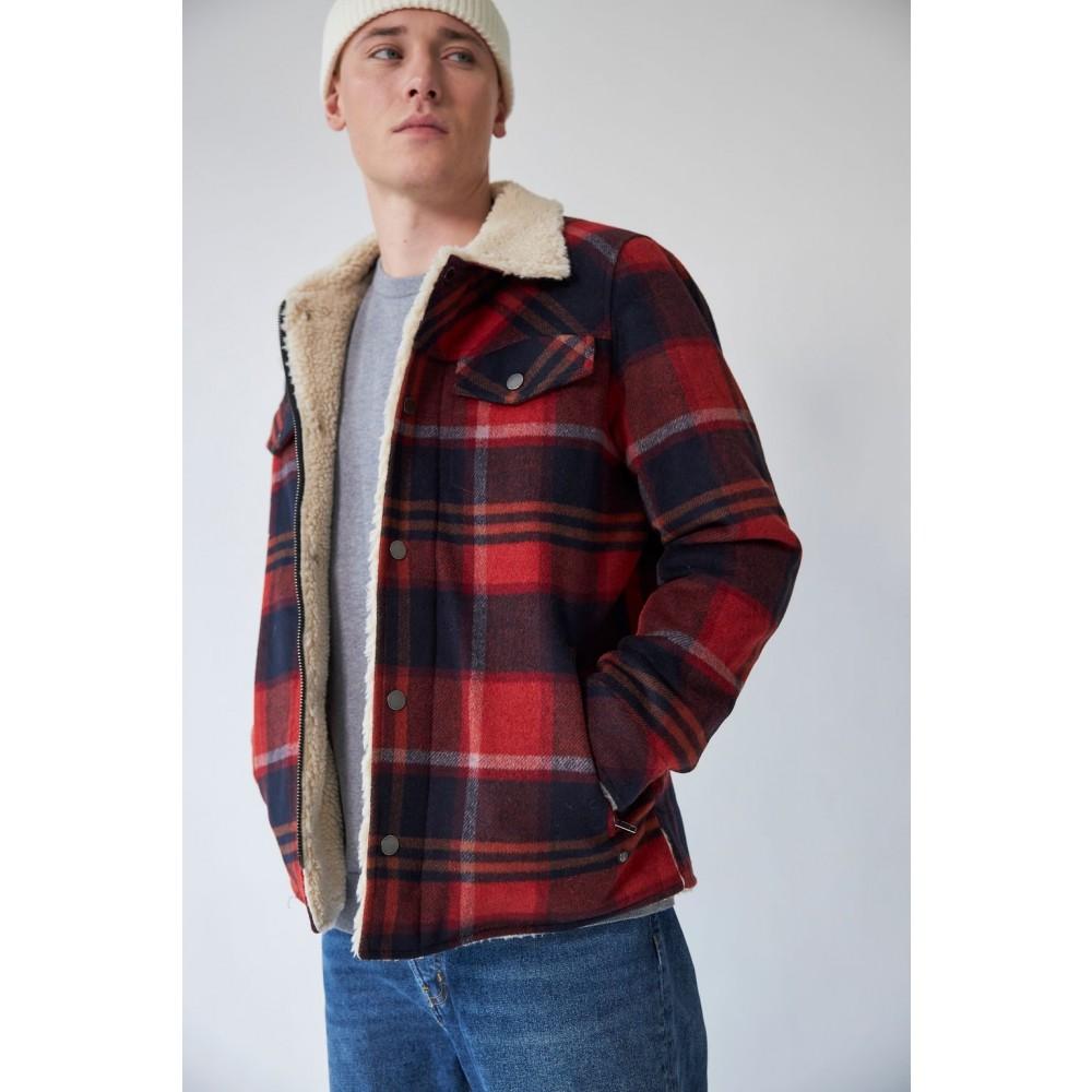 Harvey Wool Trucker Jacket - Cayenne