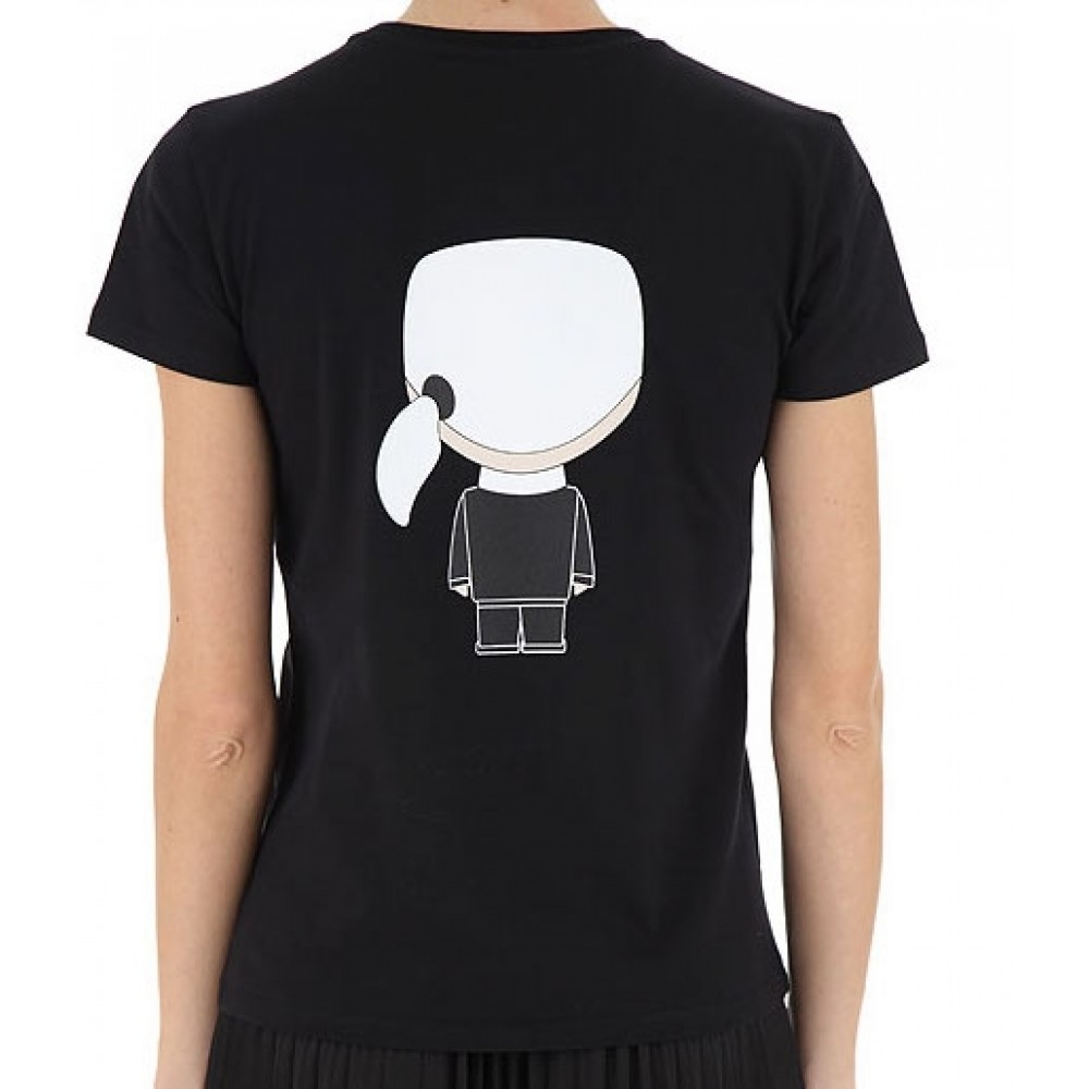 Ikonik Karl T-shirt, Black-01