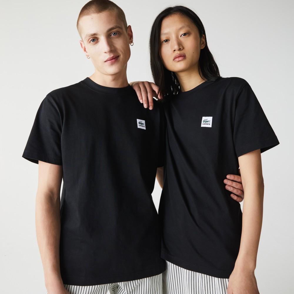 Lacoste t-shirt Unisex - black