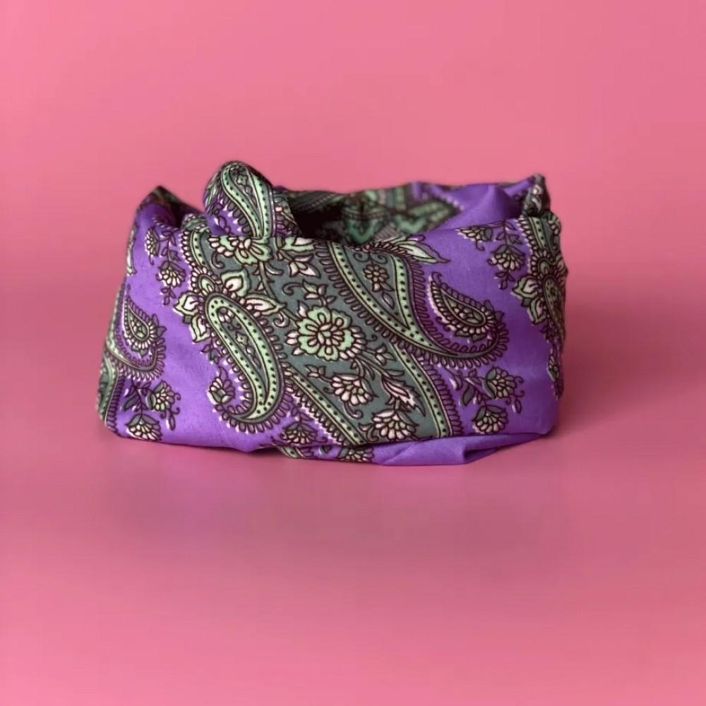 Channi tørklæde - 1835 lilla