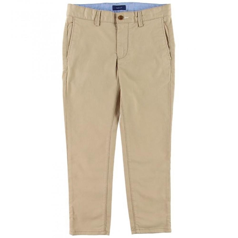 Chino pants - dry sand
