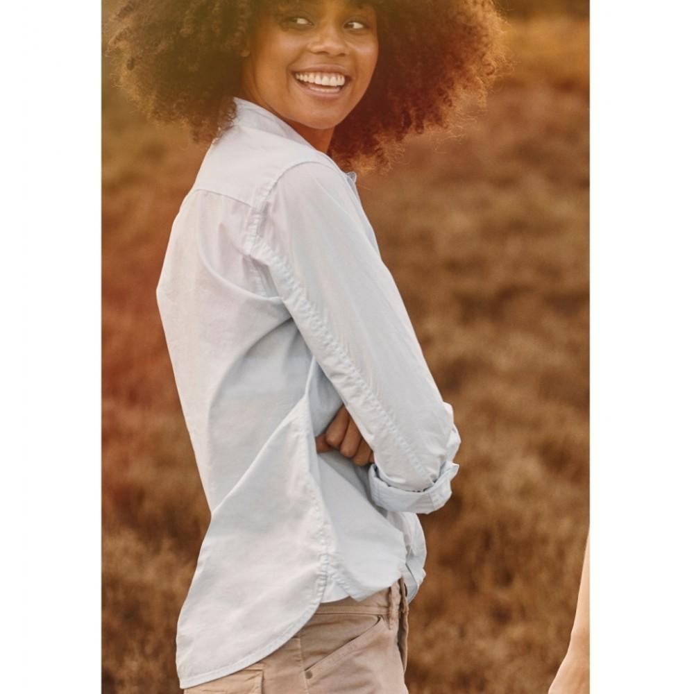 Bellis Long Shirt - lyseblå