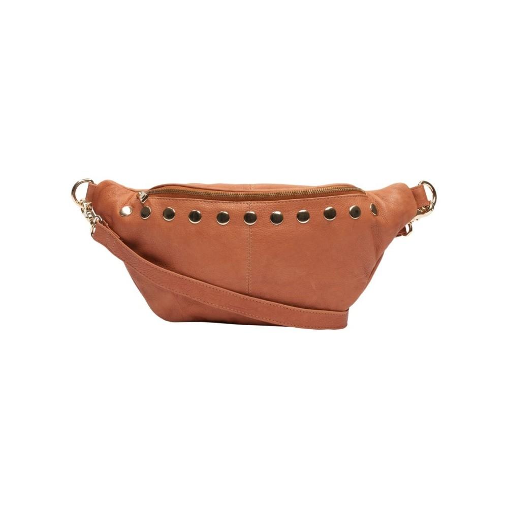 Medina Bum Bag Cognac/Gold