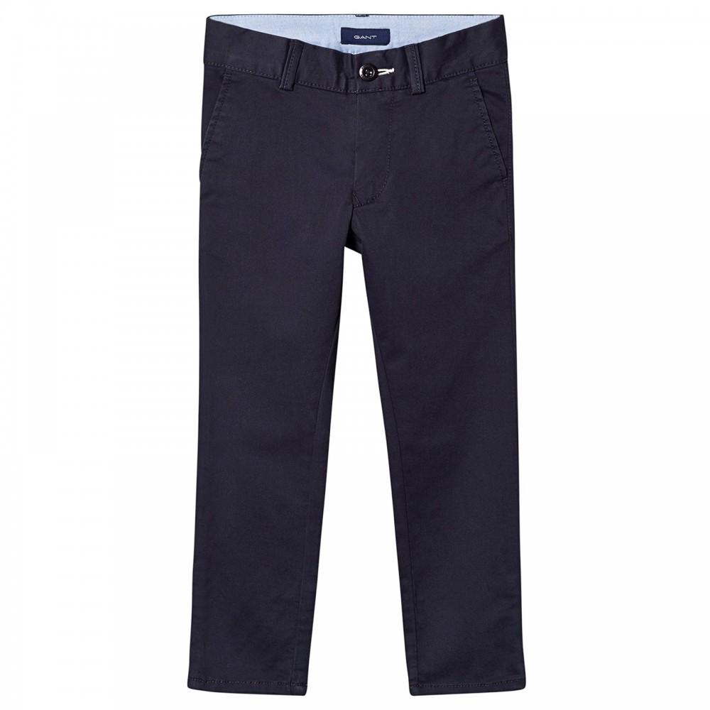 Chino pants - evening blue