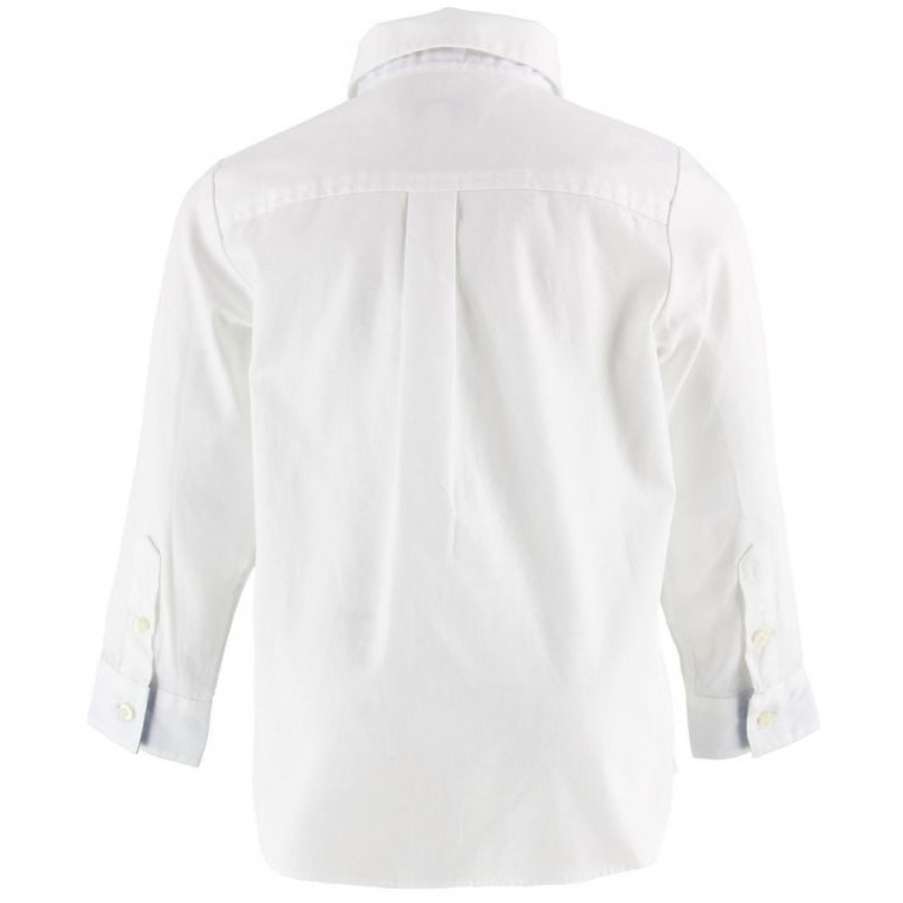 Lacoste skjorte, hvid-01