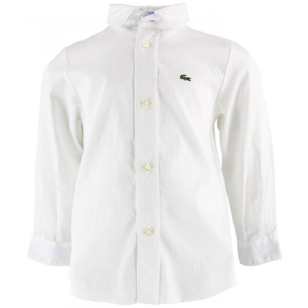 Lacoste skjorte, hvid