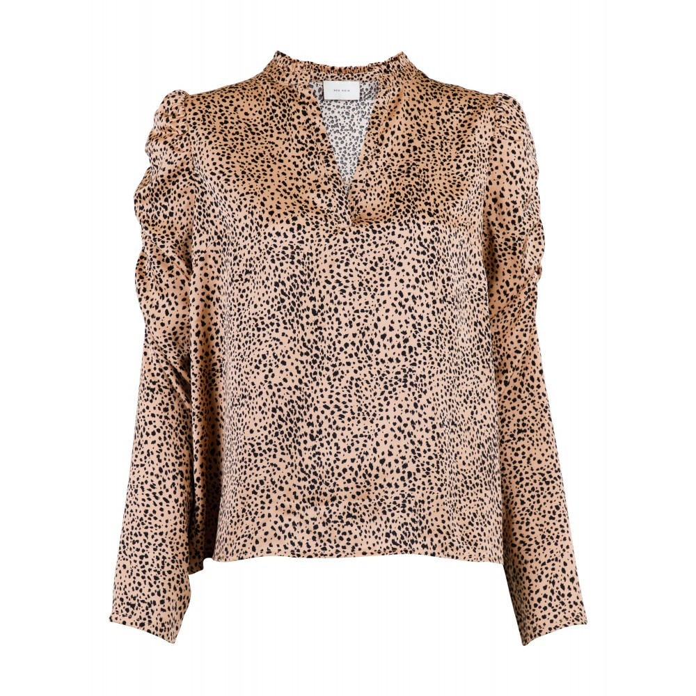 Lesley small graphic blouse