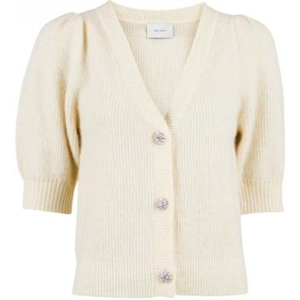 Marsia diamond knit cardigan