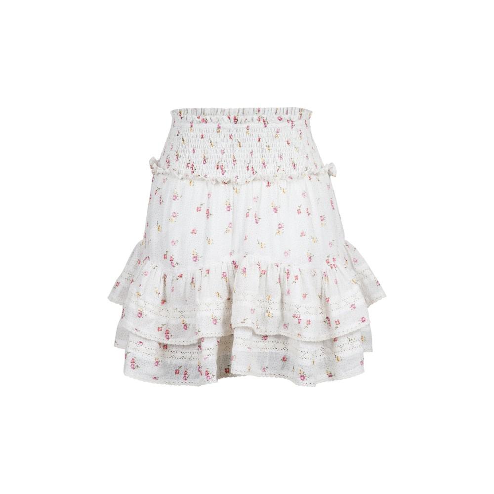 Marna breeze flower skirt - off-white