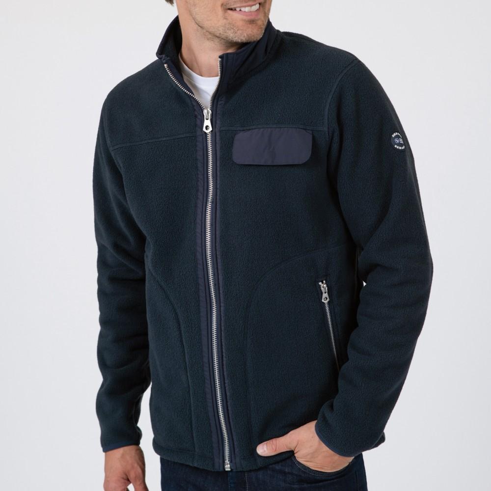 Sherpa Pile Fleece - navy