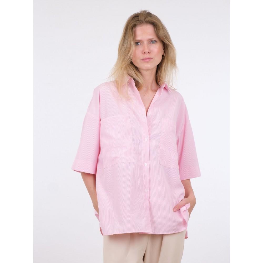 Mellow mini stripe shirt - light pink