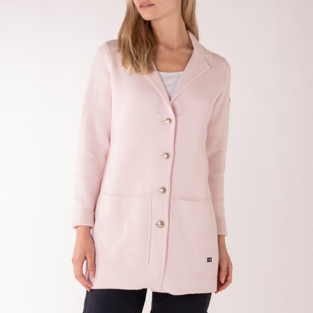 Nautical cardigan - soft pink