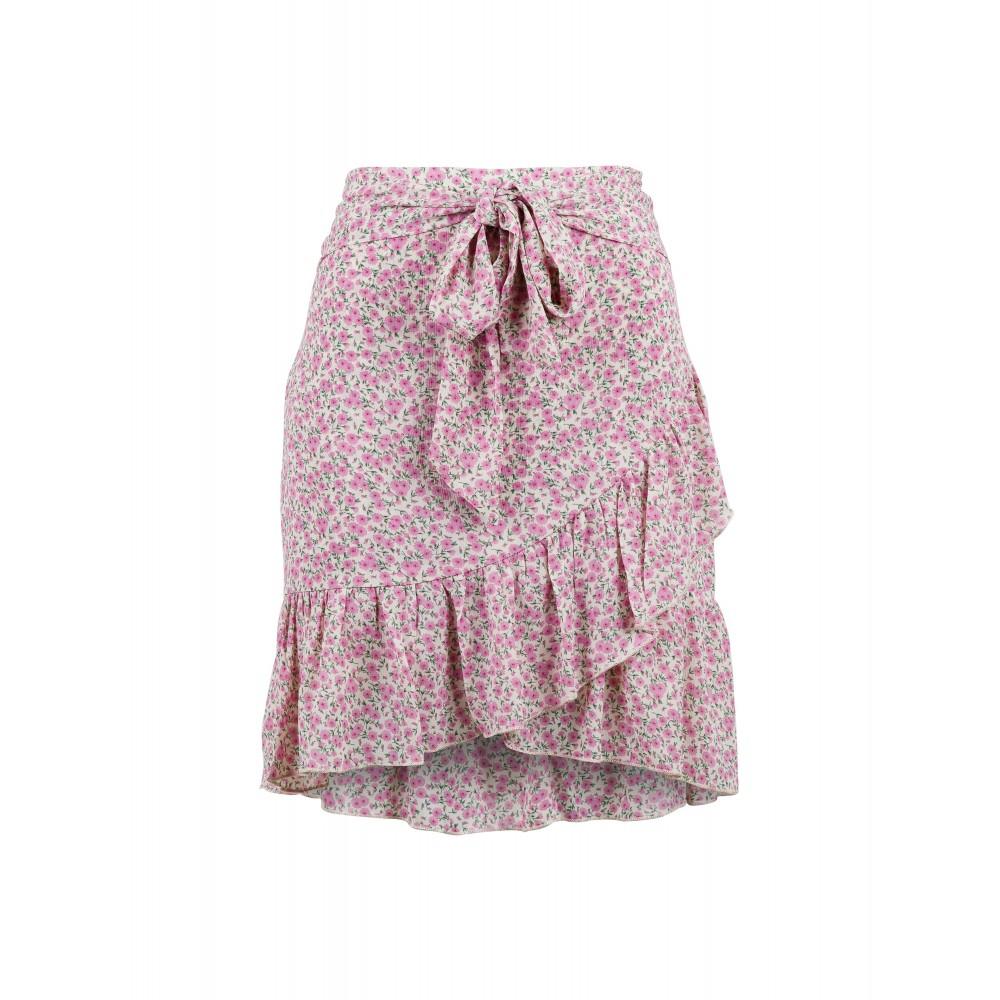 Bella Camellia skirt - light pink