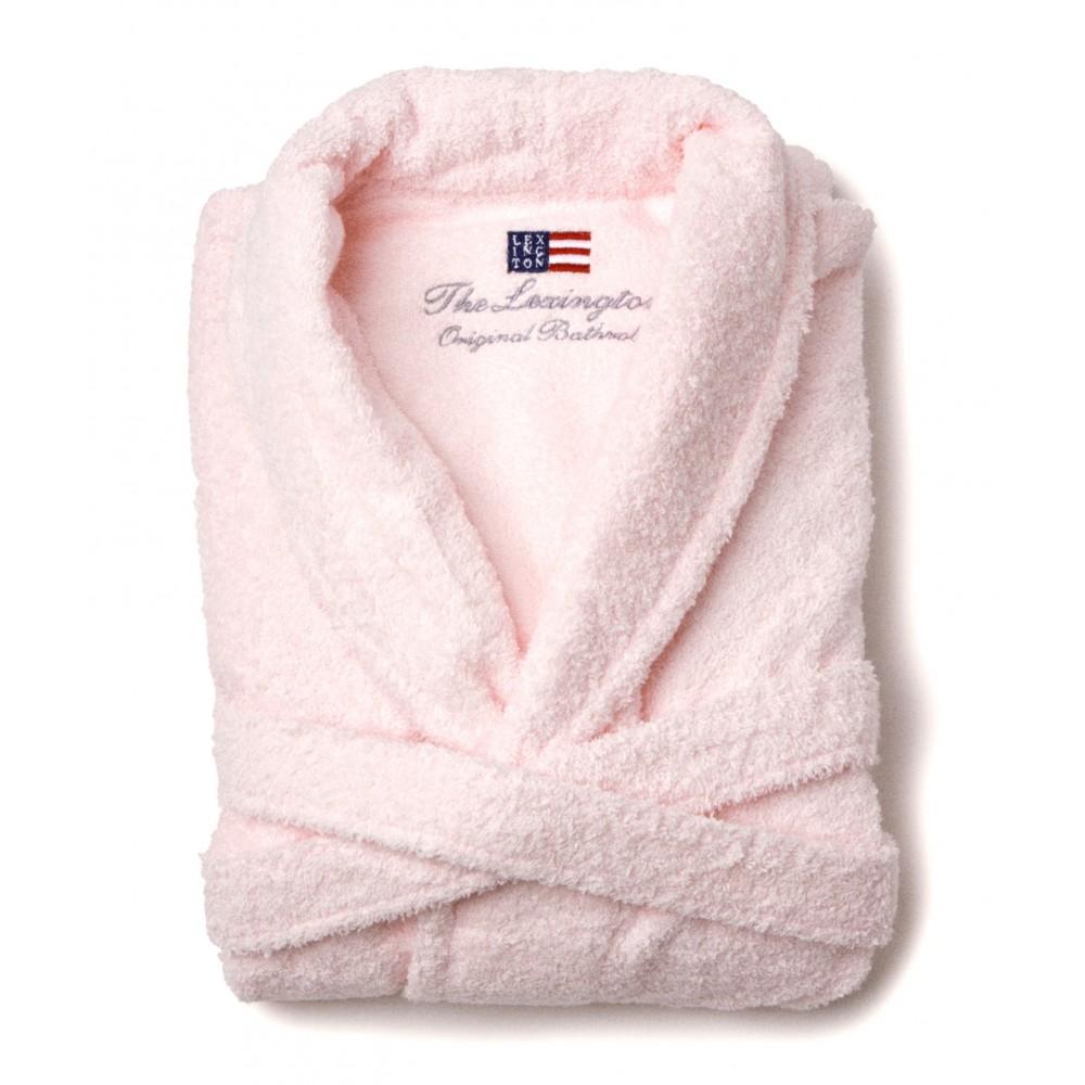 Lexington Original Bathrobe Pink