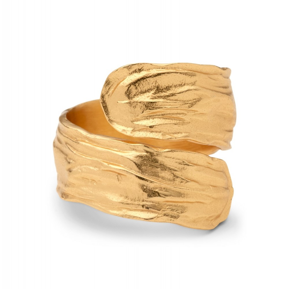 Fingerring, guld One Size