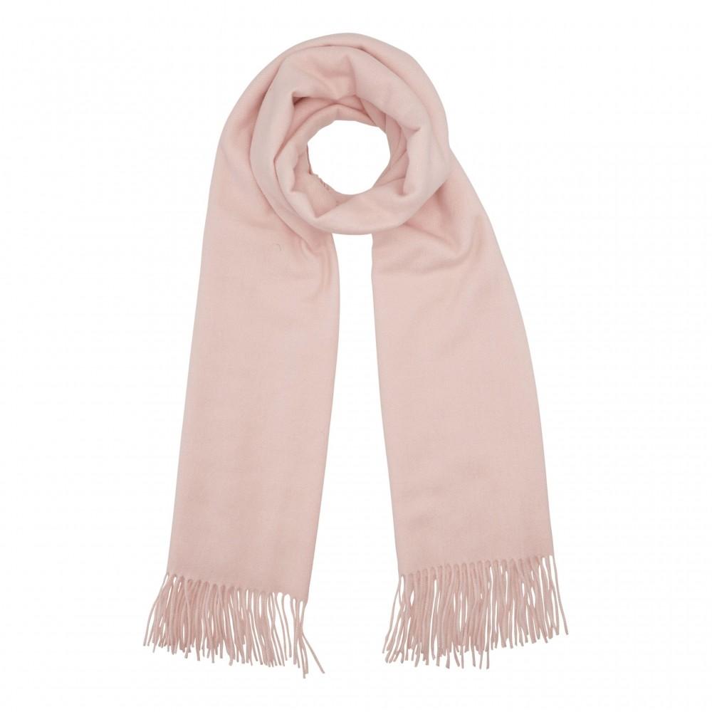 Cozy classic scarf, rose