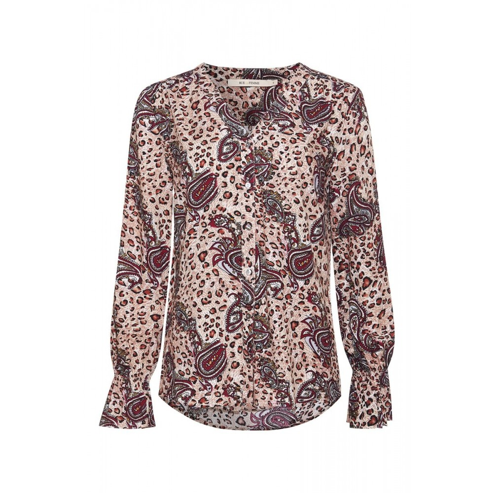 Rue De Femme Rossa Shirt Burgundy
