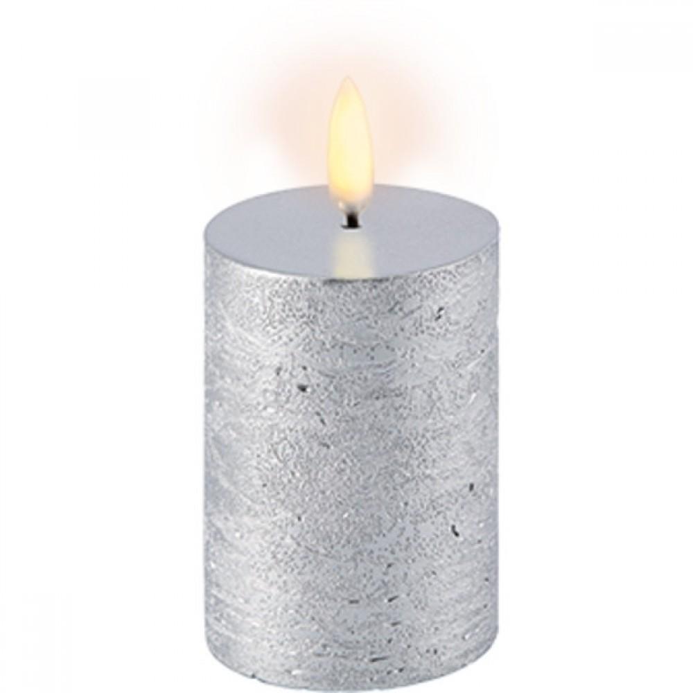 Pillar Metallic silver, 5 x 7.5