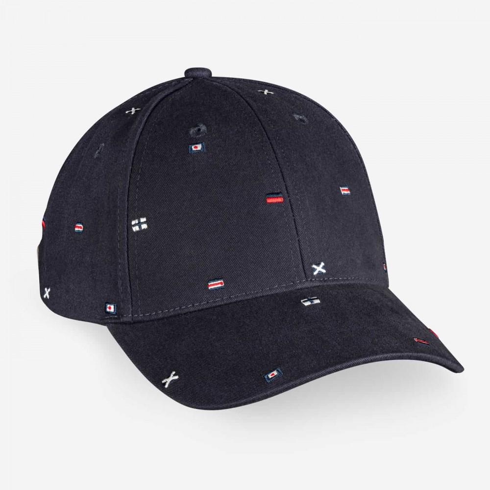 Docksides flag cap - navy
