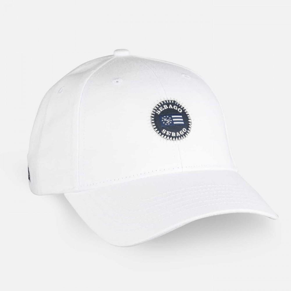 Classic logo cap - white