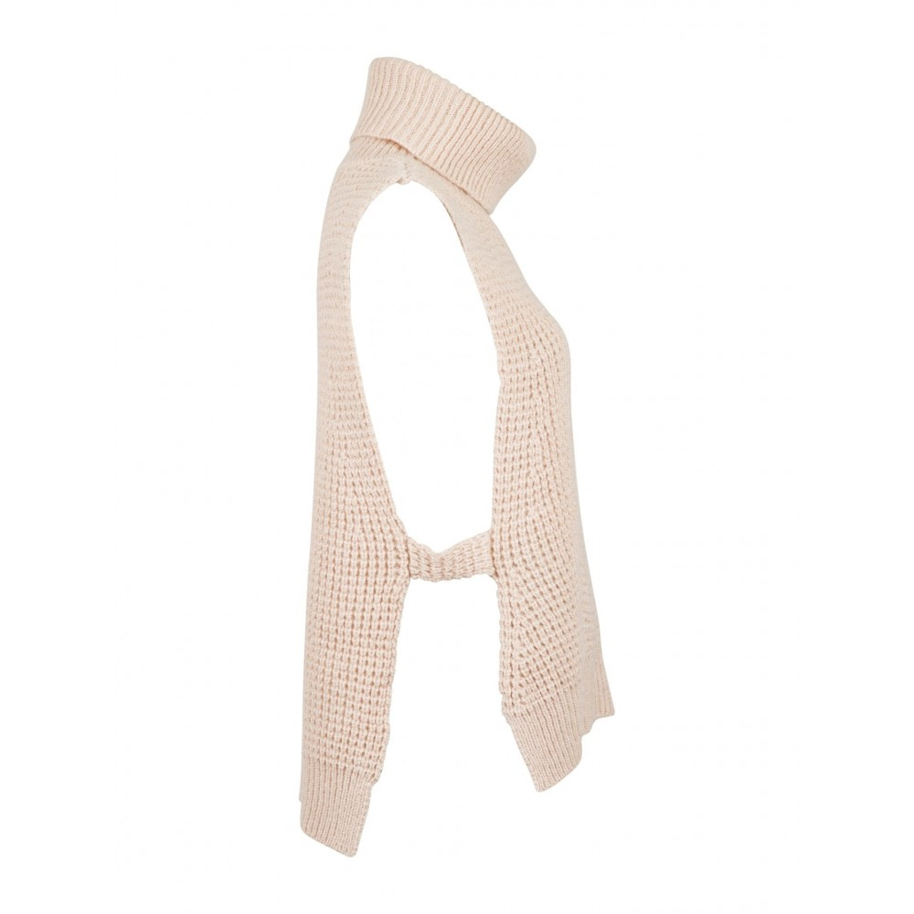 Jamie knit waistcoat, sand-01