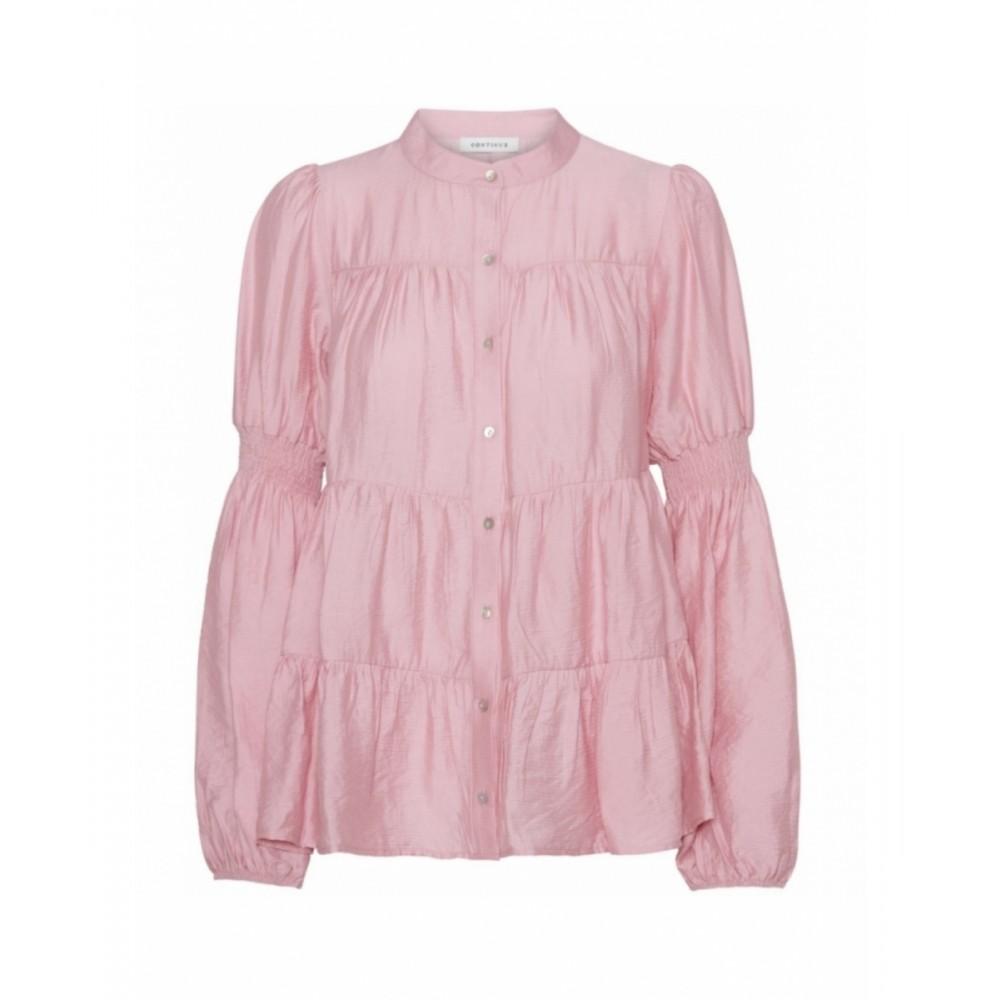 Sanna solid-pink