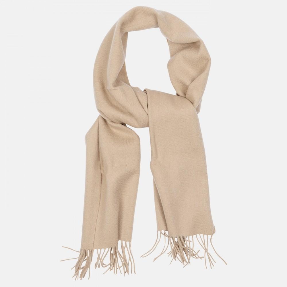 Classic Wool Scarf Camel