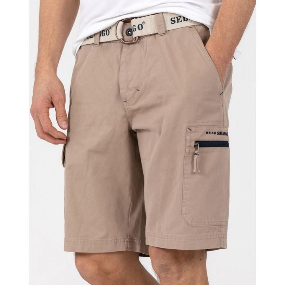 Cargo crew shorts - khaki