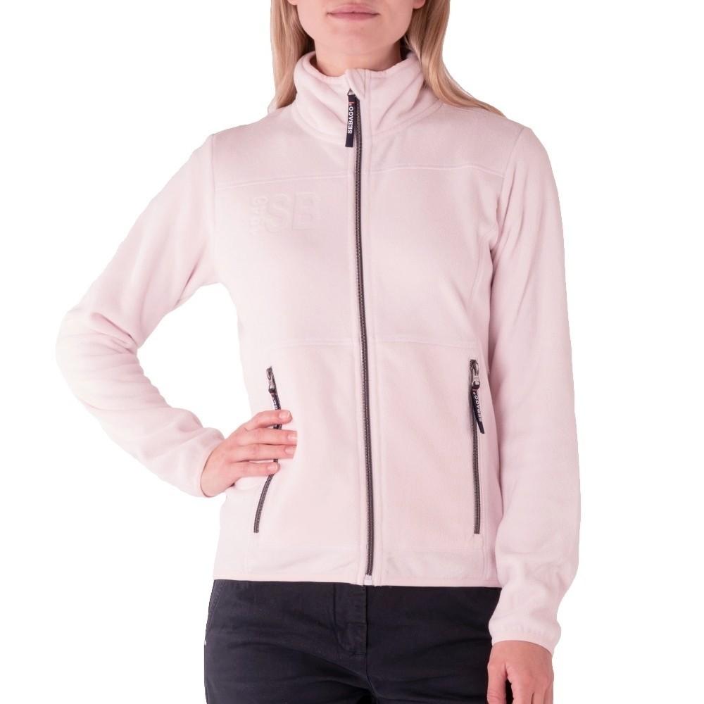 Fleece jacket women - soft pink