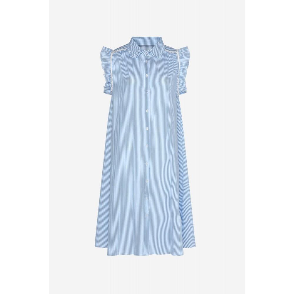 Senza dress - white/blue