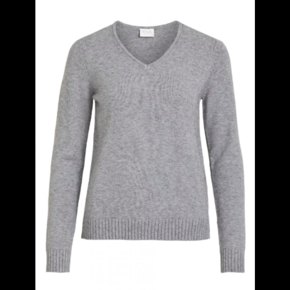 Viril V sweater lysegrå