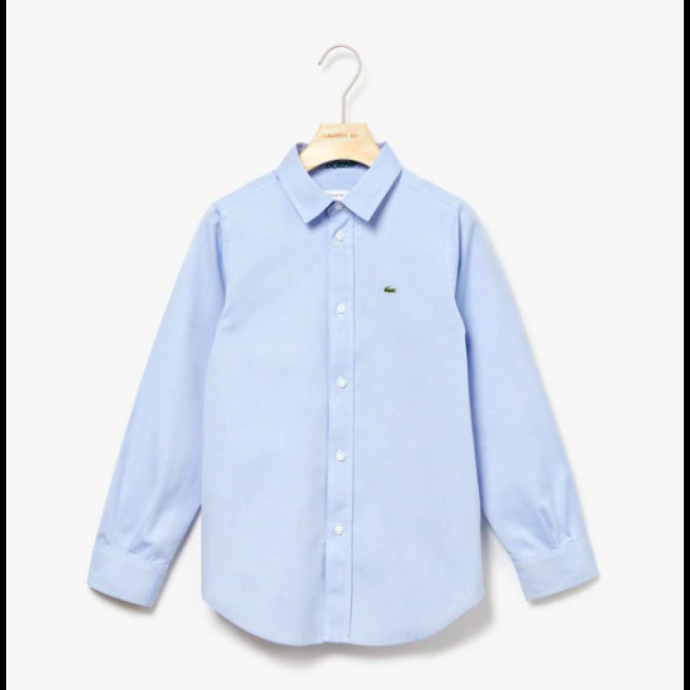 Lacoste skjorte, lyseblå